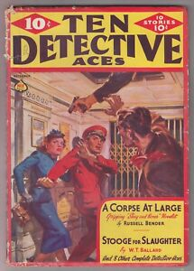 Ten-Detective-Aces-Dec-1938-Pulp-Mag-Norman-Saunders-GT-Fleming-Roberts-Ballard