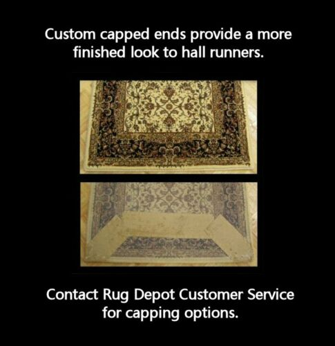 """26/"""" Wide Ivory Rug Runner Rug Depot Traditional Oriental Hall and Stair Runner"""