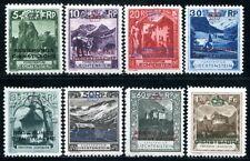 LIECHTENSTEIN DIENST 1932 1-8 * SATZ 480€(S1034