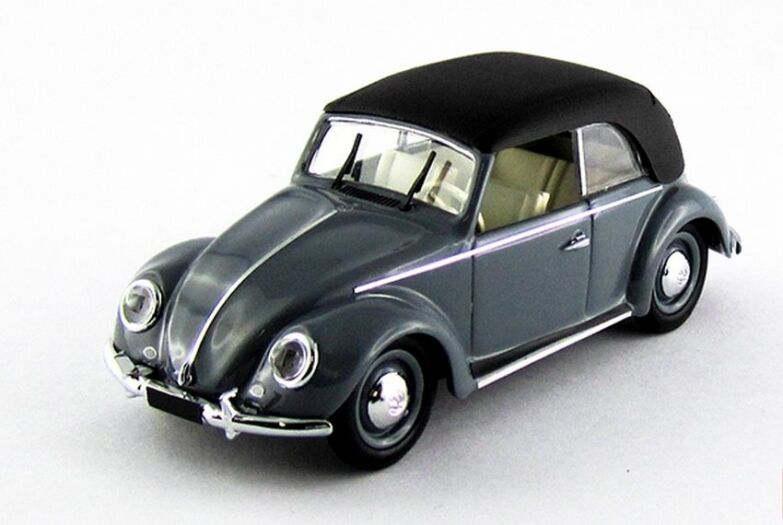 Rio 4513-volkswagen vw beetle with capote grey - 1949 1 43