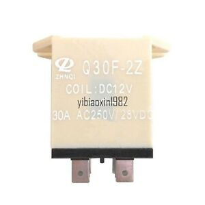 JQX-30F 2Z Plug In Type DC 12V 30A DPDT General Power Relay 8 Pin