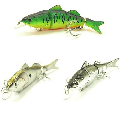 wLure Joint Swimbait Minnow Fishing Lures Tight Wobble Floating Jerkbait S596