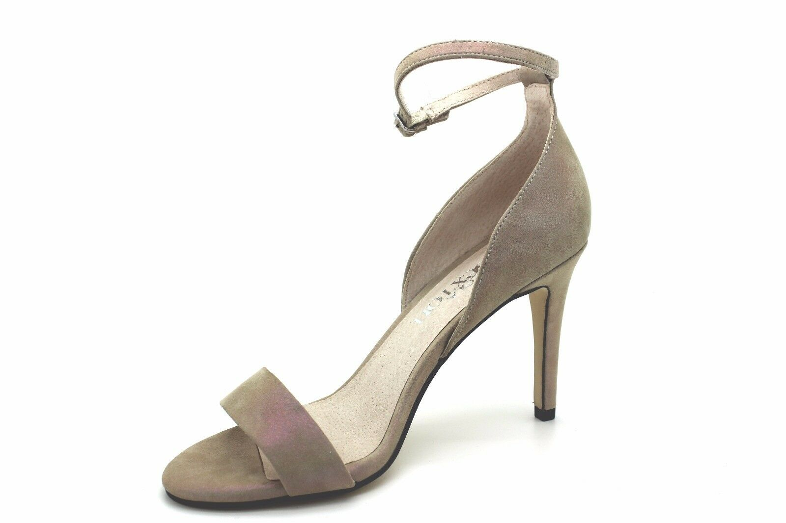 Ankle Strap Pearlised Hand Made Designer shoes - UK Size 6 - Brand New & Boxed