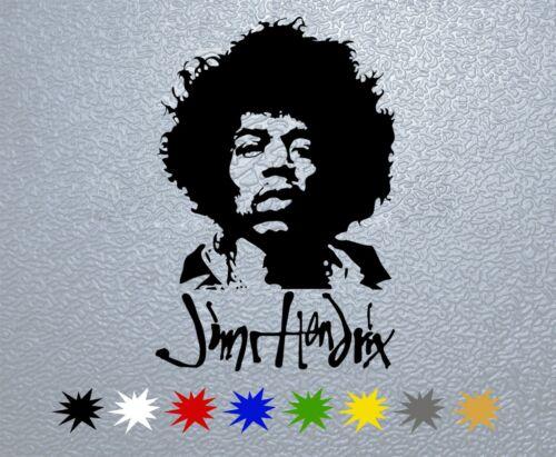 STICKER PEGATINA DECAL VINYL Jimmy Hendrix Portrait