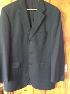 Austin Reed Westminster Navy Blue Suit Jacket Chest 42 Two Vents Ebay