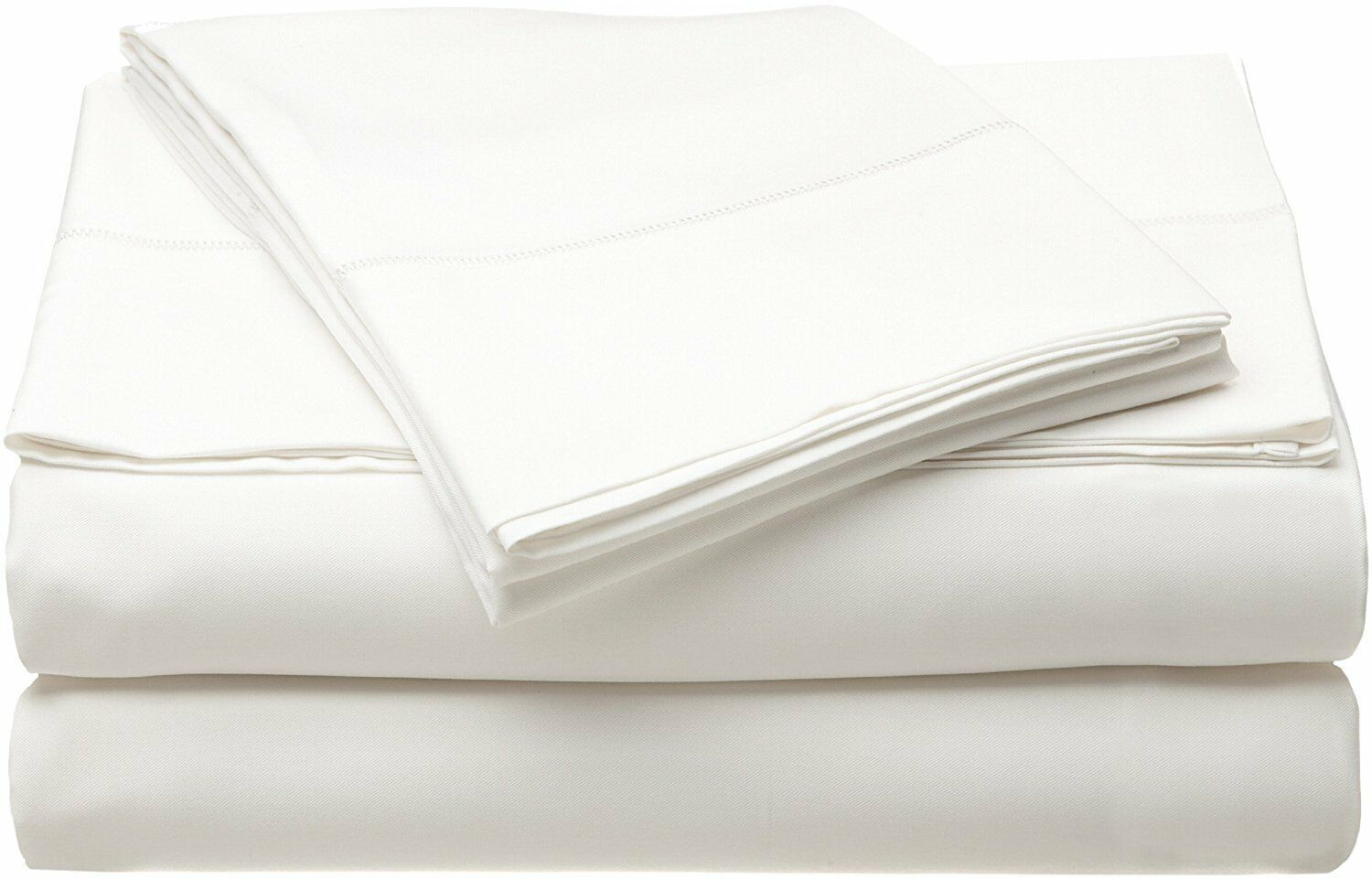 Bamboo Bed Sheet Set Caro Home White 250 Thread Count Luxury Queen King CA King