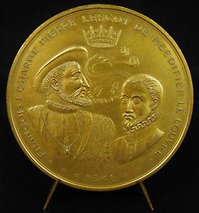 Medaglia-Pietre-Lescot-Architetto-1546-Rinnova-la-Facciata-Del-Louvre-Francois-I