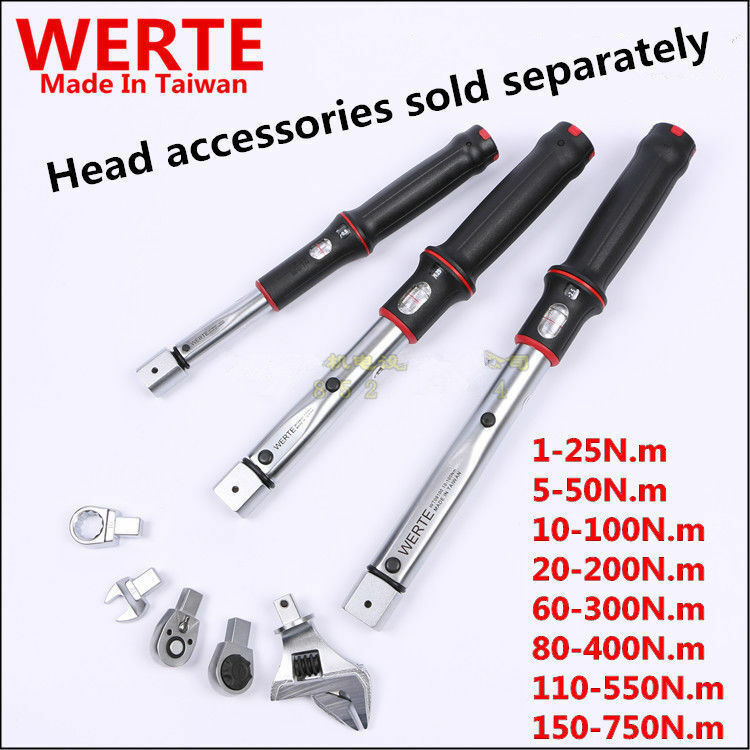 Industrial Grade Can For The First Open-Type Torque Wrench 9x12mm 14x18mm 1-750N