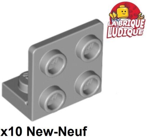 LEGO Bau- & Konstruktionsspielzeug Lego 10x Klemme 1x2 2x2 invertiert Stütze 90° grau/light Angebot gray 99207 NEW Baukästen & Konstruktion