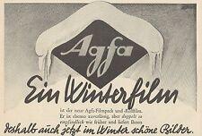 Y4437 AGFA Filmpack und Rollfilm - Pubblicità d'epoca - 1929 Old advertising