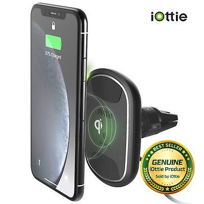 iOttie iTap 2 Wireless Magnetic Qi Wireless Charging Air Vent Mount  857199008078 | eBay