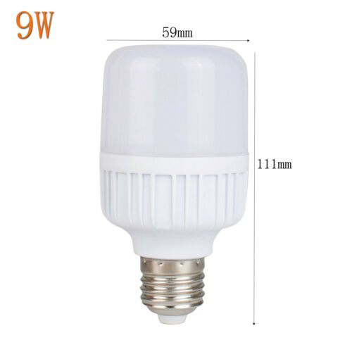 E27 Led Économie D/'Énergie Ampoule 2835 SMD Clair 5W 9W 13W 18W 25W Blanc Froid