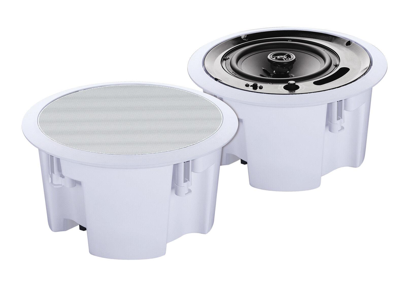 2x e-Audio Marine ELA 70V/25V 70V/25V 70V/25V Volt wetterfeste Lautsprecher 13cm Feuchtraum B306 8b9d84