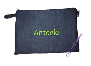 Personalised-XLarge-denim-pencil-case-31cm-by-22cm-pouch-bag-match-chair-bag