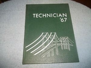 1967 SALEM COUNTY TECHNICAL INSTITUTE YEARBOOK WOODSTOWN NJ TECHNICIAN