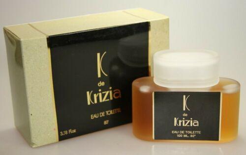 K de Krizia 100 ml Eau de Toilette EDT Splash Vintage  HFAAm lAJT7