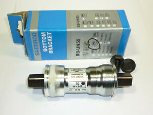NEW Shimano UN55 70 x 110mm Square Taper Italian Bottom Bracket