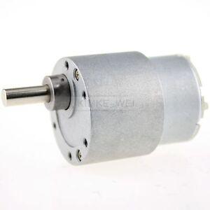 12v dc 3 5 rpm high torque gear box electric motor new ebay for 12v dc 300 rpm high torque gearbox motor