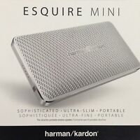 BRAND NEW Harman Kardon Esquire Mini Wireless portable bluetooth speaker - White