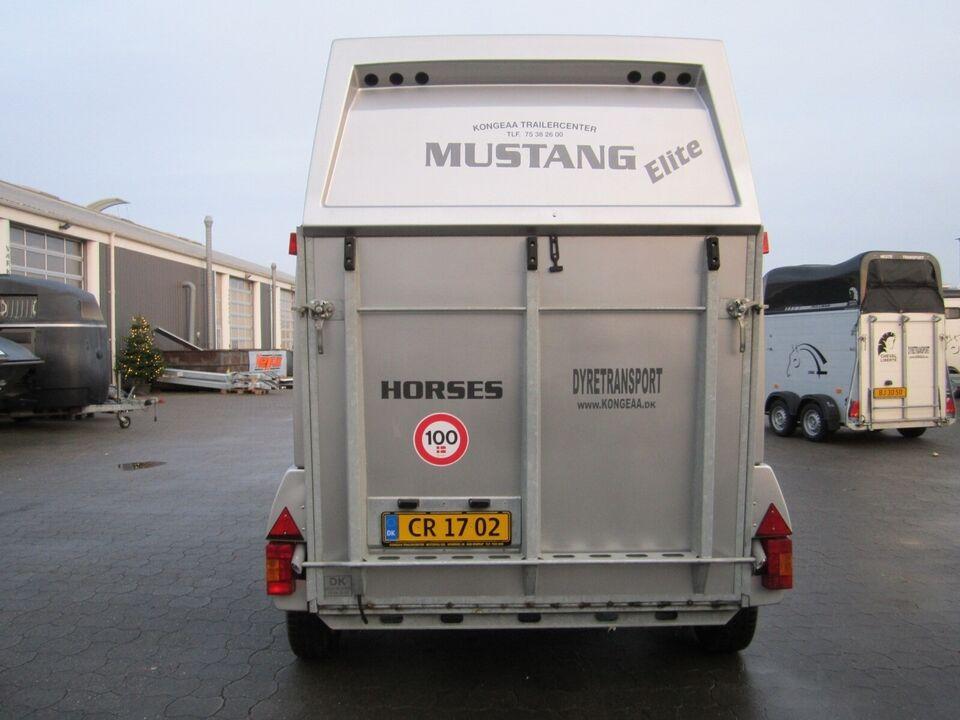 Hestetrailer Mustang Elite m/ Udstyrspakke., lastevne