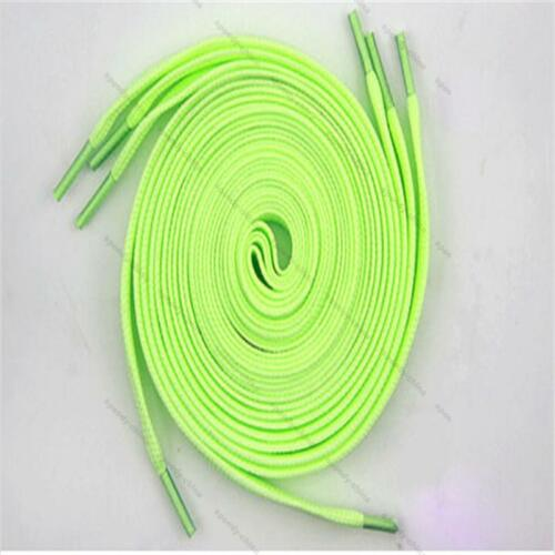 6pc//set Luminous Glow In The Dark Shoelace Athletic Sport Boots Shoe String
