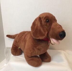 Build A Bear Plush 19 Weenie Dachshund Dog Stuffed Animal Ebay