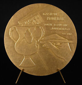 Medal-Gaston-Tesseyre-Happiness-Journalist-and-Writer-Paris-Match-Bez-Medal