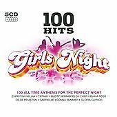 Various Artists : 100 Hits: Girls Night (5CDs) (2008)