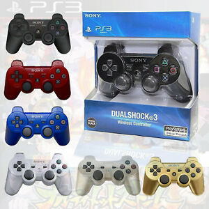 Sony-PS3-Controller-PlayStation3-DualShock-Wireless-SixAxis-GamePad-US