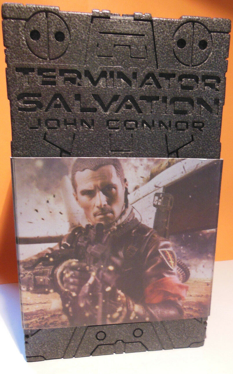 Terminator Salvation John Connor   Christian Bale MMS 95 Hot Juguetes Ottimo
