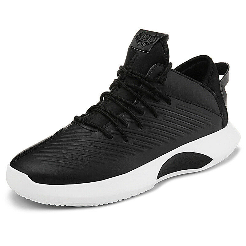 Weave Womens Mens Lace Up Platform Comfort shoes Sport Athletic Damping Running