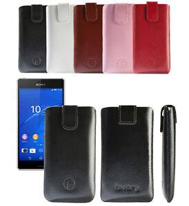 Original-Favory-Etui-Tasche-fuer-Sony-Xperia-Z3-Leder-Bag-Handytasche-Ledertasche