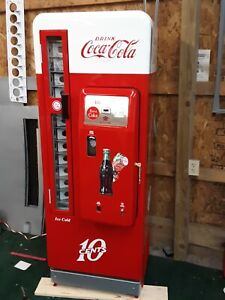 Details about Coca Cola Coke Machine Cavalier 96 Professional Restoration on