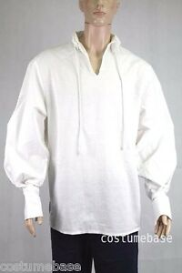 Exact Sweeney Todd Long Sleeves White Shirt Halloween Costume ...