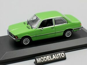 green 1975 BMW 323i Maxichamps 1:43