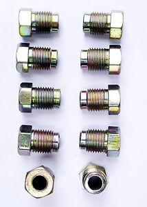 METRIC-DIN-BRAKE-PIPE-NUTS-Flare-Line-VW-BMW-PORSCHE