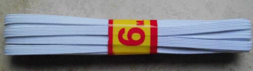 6 km Caoutchouc Toron bundgummi élastique elastic € 0,60//m Élastique rentré 5 mm