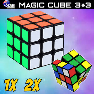 Competiton-Super-Fast-Smooth-3x3-Rubik-039-s-Magic-Speed-Puzzle-Rubics-Cube-AU-POST