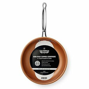 9 5 Inch Frying Pan Steel Ceramic Fry Non Stick Copper