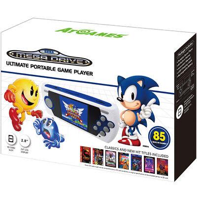 Consola Megadrive Portatil con 80 juegos y SD MD Sega Nueva
