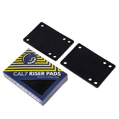 "3 Sets Cal 7 Truck 1//8/"" Skateboard Riser Pads Rubber Red Color"