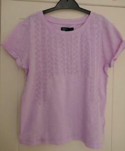 Girls-Gap-Size-8-Years-Short-Sleeve-Top-100-Cotton