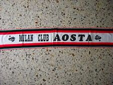 d20 sciarpa MILAN AC football club calcio scarf bufanda echarpe italia italy