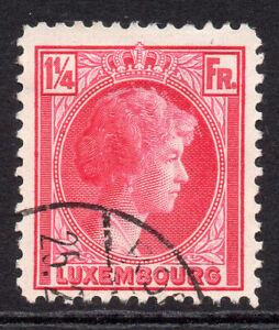 Lussemburgo 1 1/4 Franco Rose Carmine TIMBRO c1926-35 montato Nuovo di zecca a battente (678a)