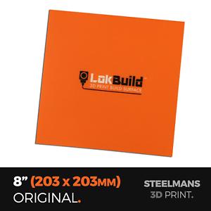 """LokBuild : 3D Print Build Surface - 8"""" (203 x 203mm)"""