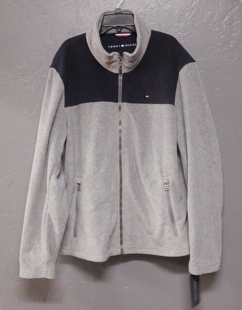 5076b254 Tommy Hilfiger / MSRP $160.00 / Full Zip Up Polar Fleece Jacket Men's Size  ...