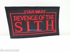 Star Wars 2005 Revenge of the Sith IRON ON PATCH LFL by C&D Visionary