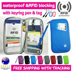 Travel-Wallet-Ticket-Holder-with-RFID-Blocking-Covers-for-Passport-iPhone-Xs