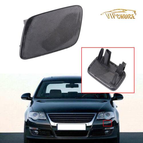For VW Passat B6 06-11 Front Bumper Left Headlight Washer Nozzle Jet Cover