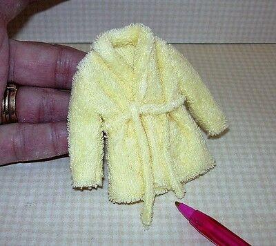 Miniature Kid/'s YELLOW Terry Cloth Bathrobe w//Pockets DOLLHOUSE Miniatures 1:12